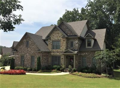 Ball Ground Single Family Home For Sale: 8510 Hightower Ridge