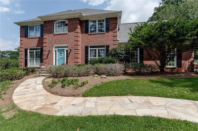 Roswell Single Family Home For Sale: 385 Saddlebrook Drive