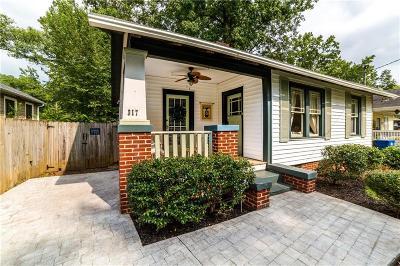 Atlanta Single Family Home For Sale: 317 Murray Hill Avenue NE