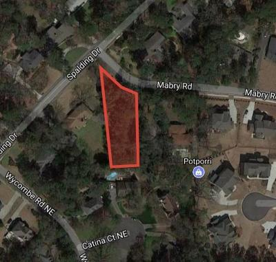 Sandy Springs Residential Lots & Land For Sale: 571 Mabry Road