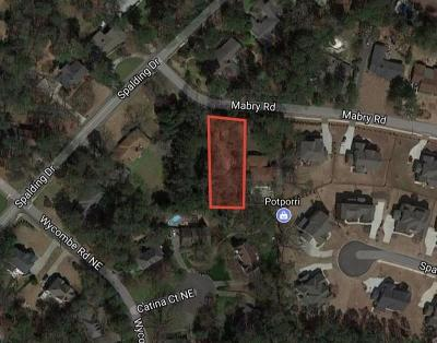 Sandy Springs Residential Lots & Land For Sale: 581 Mabry Road
