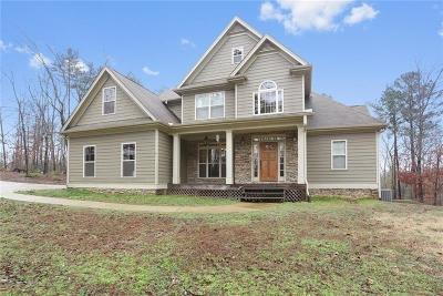 White Single Family Home For Sale: 195 Clearwater Trail NE