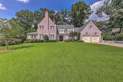 Single Family Home For Sale: 1749 Friar Tuck Road NE