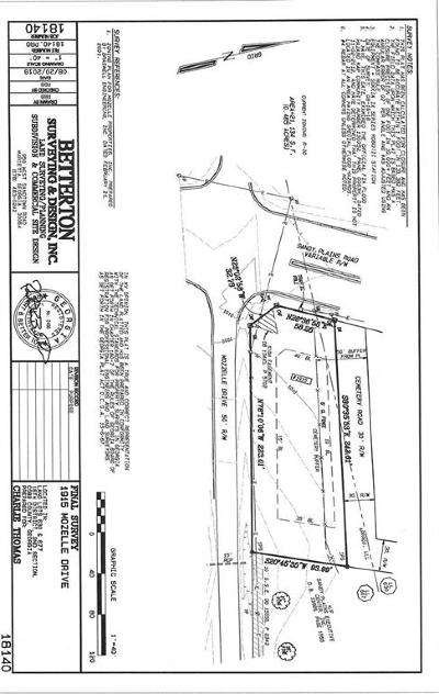 Marietta Residential Lots & Land For Sale: 1915 Mozelle Drive