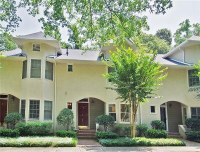 Condo/Townhouse For Sale: 1227 Oak Park Drive NE
