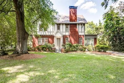 Druid Hills Single Family Home For Sale: 1338 N Decatur Road NE