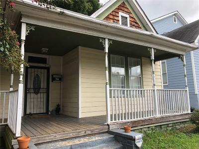 Single Family Home For Sale: 74 Lucy Street SE