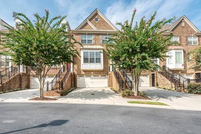 Roswell Condo/Townhouse For Sale: 4006 Manchester Circle #19