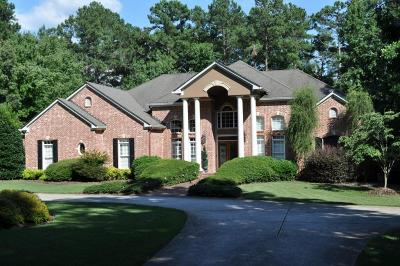 Kennesaw Single Family Home For Sale: 5211 Hadaway Road NW