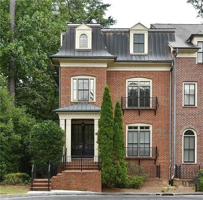 Atlanta Condo/Townhouse For Sale: 3127 Lenox Road NE #21