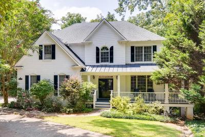 Alpharetta Single Family Home For Sale: 12185 Stevens Creek Drive