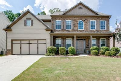 Braselton Single Family Home For Sale: 1818 Madrid Falls Drive