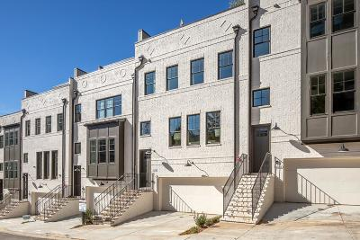 Atlanta Condo/Townhouse For Sale: 1802 Huntington Hills Lane NW