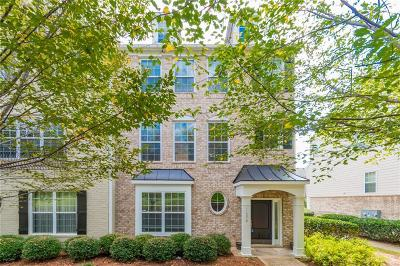 Alpharetta Condo/Townhouse For Sale: 11270 Musette Circle