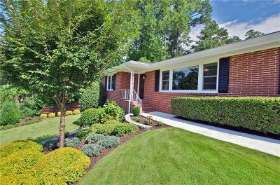 Atlanta Single Family Home For Sale: 1861 Mount Royal Drive NE