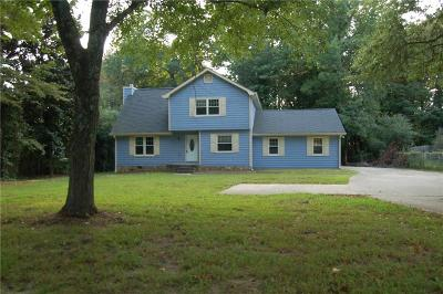 Single Family Home For Sale: 6559 W Fayetteville Road