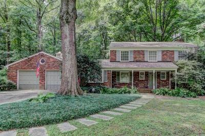Sandy Springs Single Family Home For Sale: 475 Forestdale Drive