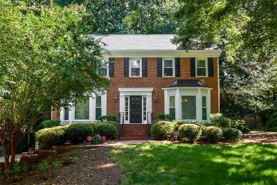 Peachtree Corners, Norcross Single Family Home For Sale: 4259 Old Bridge Lane