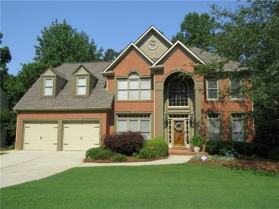 Johns Creek Single Family Home For Sale: 145 Ketton Crossing