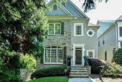 Atlanta Single Family Home For Sale: 2694 Lenox Road NE #1