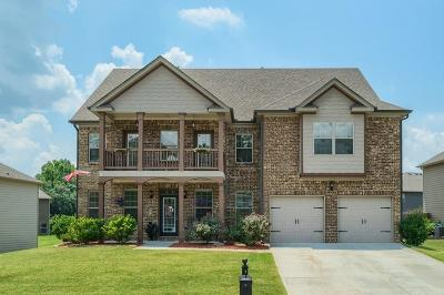 Braselton Single Family Home For Sale: 771 Sienna Valley Drive