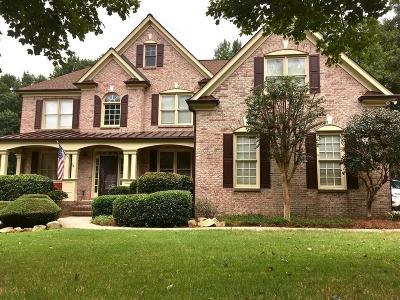 Suwanee Single Family Home For Sale: 920 Ambleside Drive