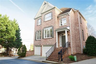 Atlanta Single Family Home For Sale: 2694 Lenox Road NE #7