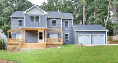 East Atlanta Single Family Home For Sale: 1615 Van Vleck Avenue SE