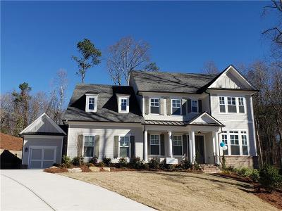 Milton  Single Family Home For Sale: 150 Milestone Trail