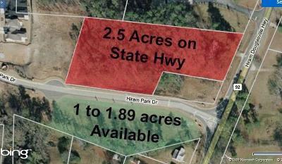 Hiram Single Family Home For Sale: 356 Hiram Douglasville Highway