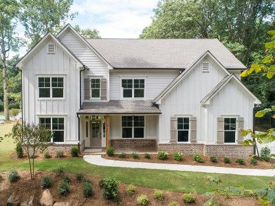 Sandy Springs Single Family Home For Sale: 5780 Mitchell Road NW