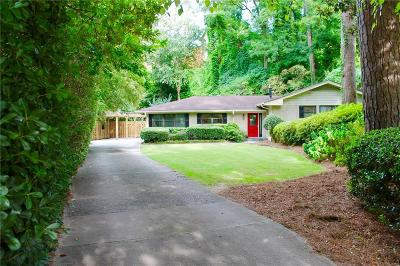 Single Family Home Contingent-Due Diligence: 1653 Anita Place NE