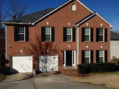 Lithonia Single Family Home For Sale: 2959 Fairton Trail