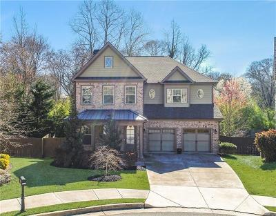 Smyrna Single Family Home For Sale: 1070 Elle Court SE
