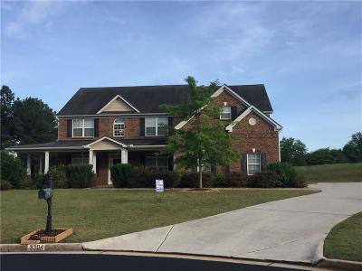 Conyers Single Family Home For Sale: 3304 Flat Stone Court