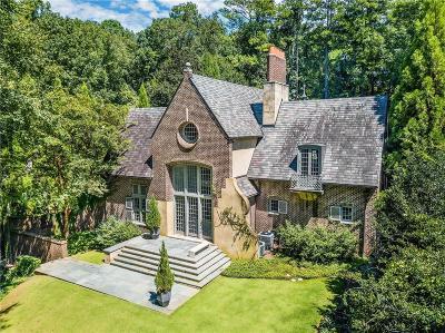 Atlanta GA Single Family Home For Sale: $2,490,000