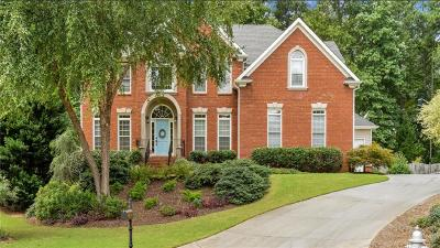 Kennesaw Single Family Home For Sale: 2038 Cockrell Run NW
