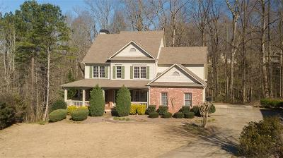 Ball Ground Single Family Home For Sale: 9655 Old Riverside Lane