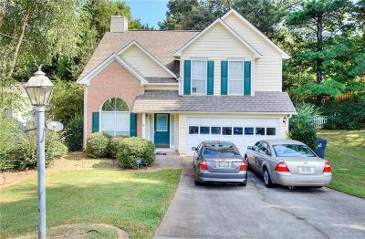 Lawrenceville Single Family Home For Sale: 1625 McKendree Lake Drive