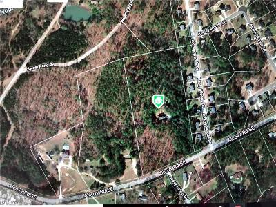 Lawrenceville Residential Lots & Land For Sale: 1625 Alcovy Road SE