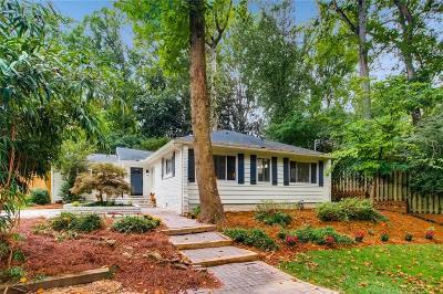 Atlanta Single Family Home For Sale: 1241 Sheridan Road NE