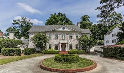 Atlanta GA Single Family Home For Sale: $2,499,900