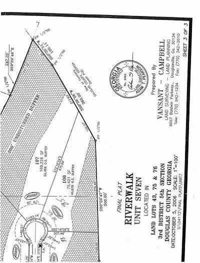Douglas County Residential Lots & Land For Sale: 6251 Sequoia Lane