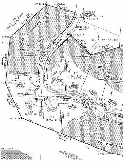 Douglas County Residential Lots & Land For Sale: 6091 Sequoia Lane