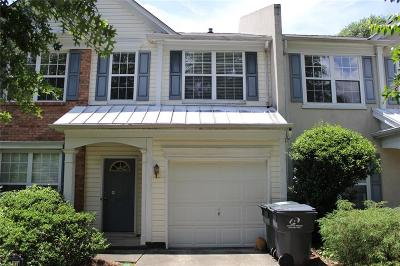 Peachtree Corners Condo/Townhouse For Sale: 5203 Medlock Corners Drive