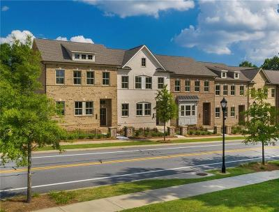 Dunwoody Condo/Townhouse For Sale: 1538 Prestwick Lane