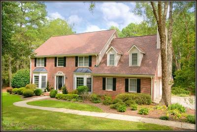 Single Family Home For Sale: 1202 Milford Forest Drive SW