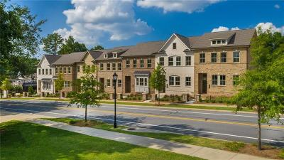 Dunwoody Condo/Townhouse For Sale: 1550 Prestwick Lane