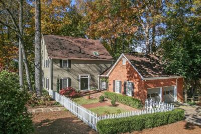 Sandy Springs Single Family Home For Sale: 520 Cambridge Way