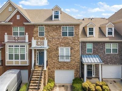 Johns Creek Condo/Townhouse For Sale: 6155 Deluna Way